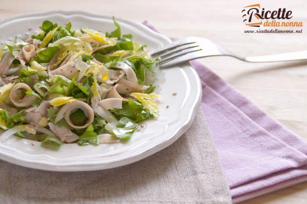 insalata tacchino sedano