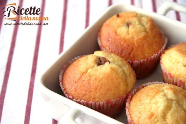 Muffin ai Lindor ricetta e foto