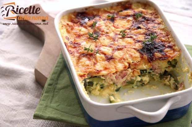 Pasticcio di zucchine