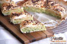 Quiche con broccoli e Valtellina Casera
