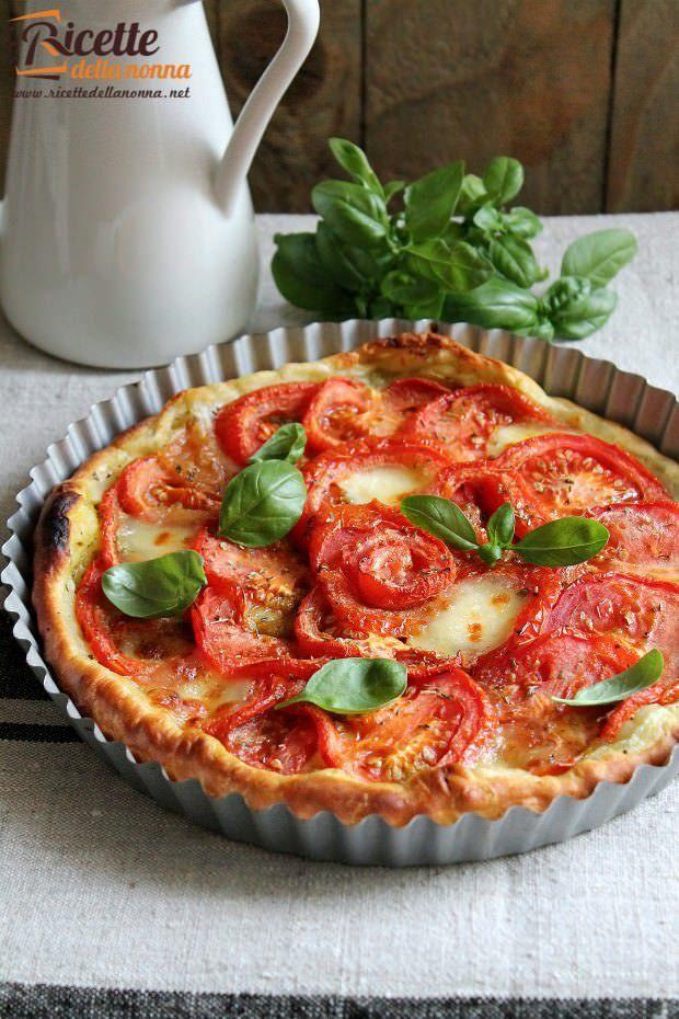 Torta salata alla caprese ricetta e foto