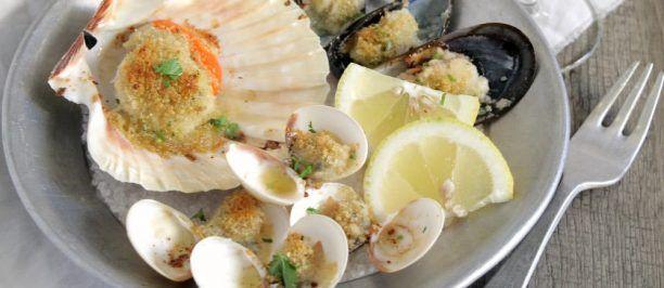 Frutti di mare al gratin ricetta e foto