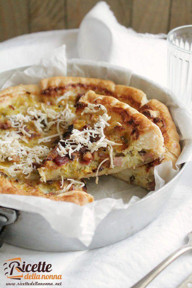 Foto torta salata ai sapori del Trentino