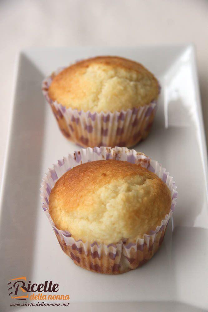 Muffin alle mandorle ricetta e foto