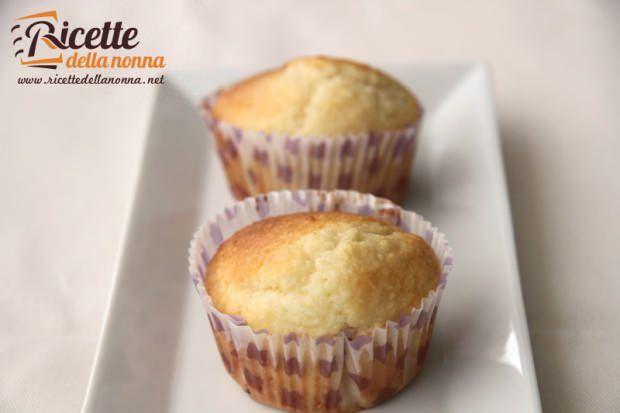 ricetta muffin mandorle
