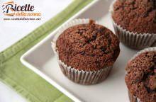 Muffin cioccolato e mandorle
