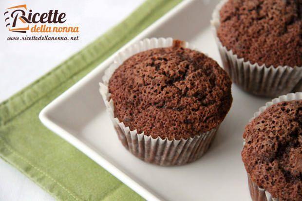 Muffin cioccolato e mandorle ricetta e foto