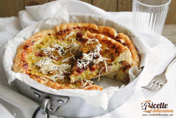 Ricetta torta salata ai sapori del Trentino