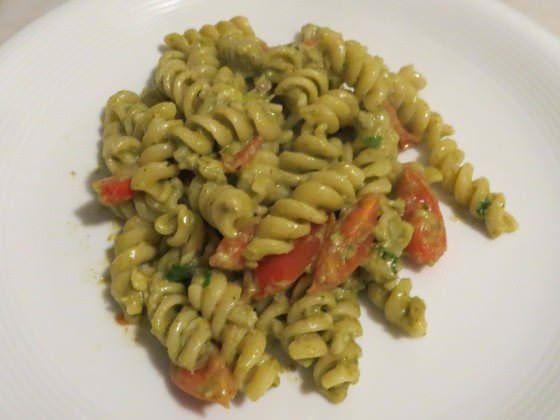 Fusilli in salsa di asparagi ricetta e foto