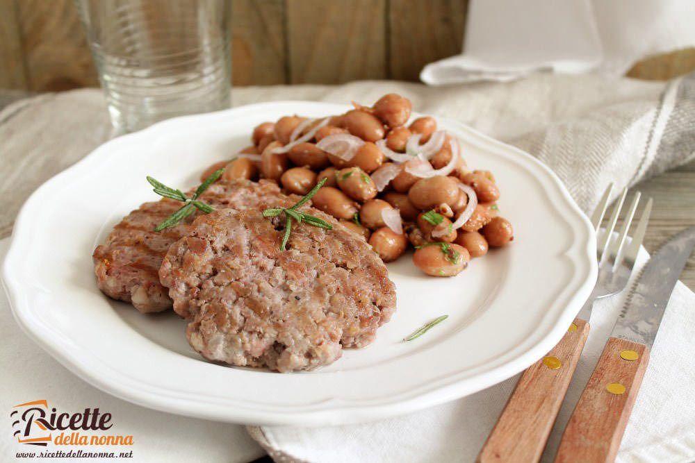 Ricetta bistecche tastasale con fagioli borlotti