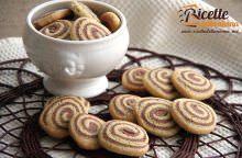 Biscotti bicolore senza burro