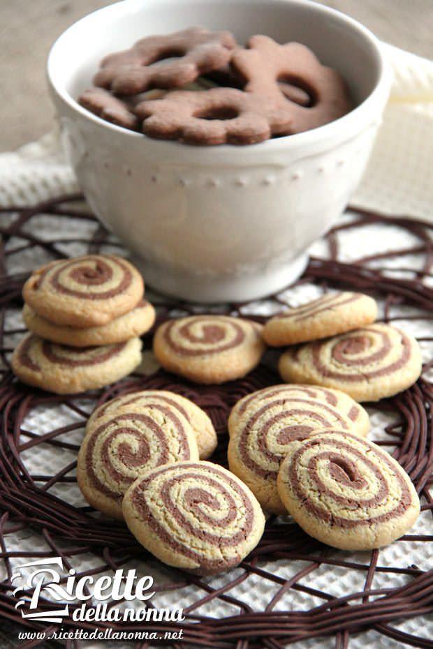 Biscotti bicolore senza burro ricetta e foto