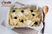 """Pasta al forno in """"bianco e nero"""""""