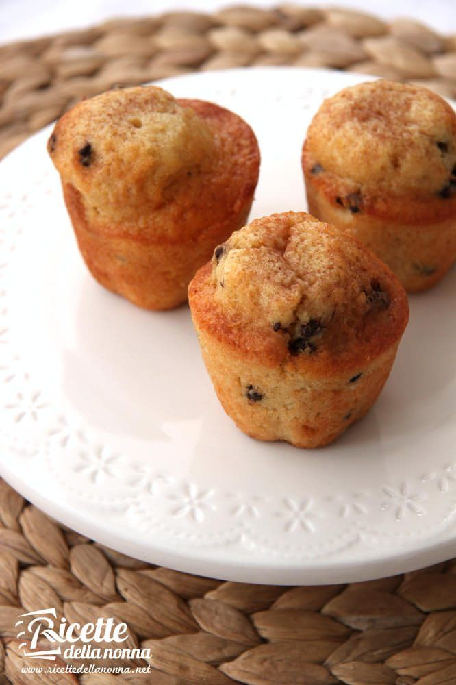 Muffin al caramello e cioccolato ricetta e foto