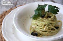 Spaghetti di Gragnano al pesto di triglie mantecati con burro Occelli