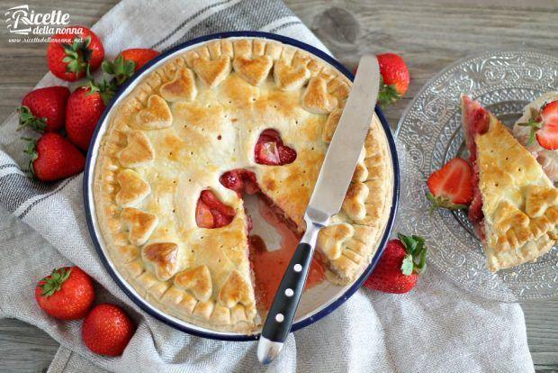 Torta alle fragole ricetta e foto