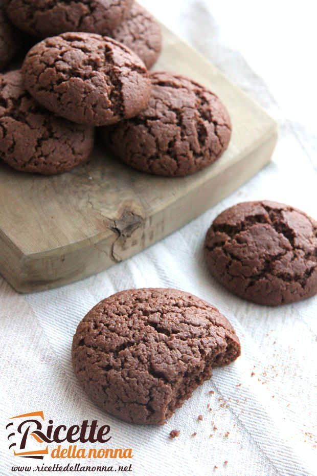 Biscotti al cioccolato fondente senza burro ricetta e foto