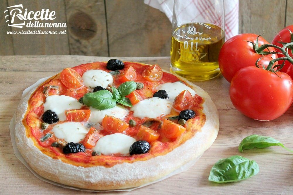 Impasto per la pizza fatta in casa ricette della nonna for Pizza in casa