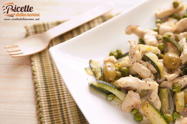 Pollo in verde ricetta e foto