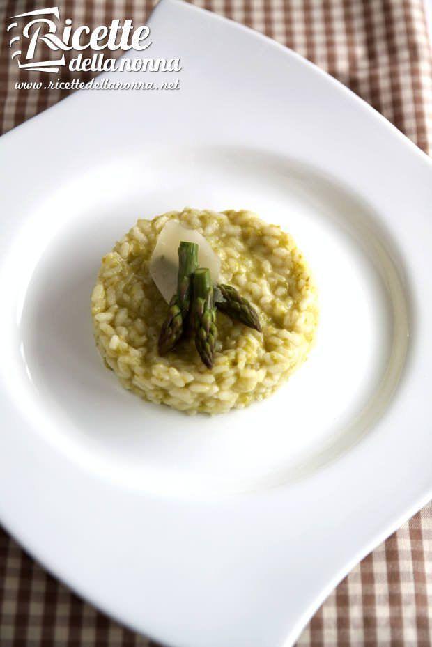 Risotto agli asparagi ricetta e foto