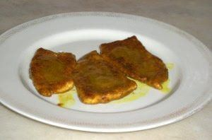Scaloppine di tacchino al marsala e curry