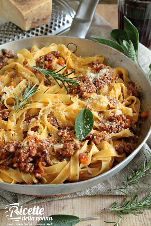 Ragù alla bolognese ricetta e foto