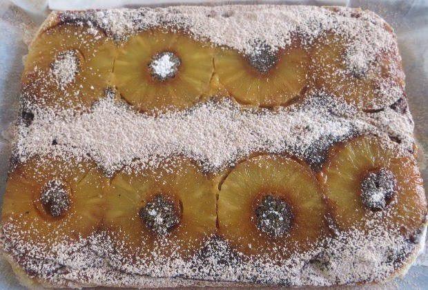 Torta ananas ricetta e foto