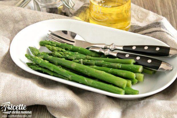 Asparagi al naturale ricetta e foto