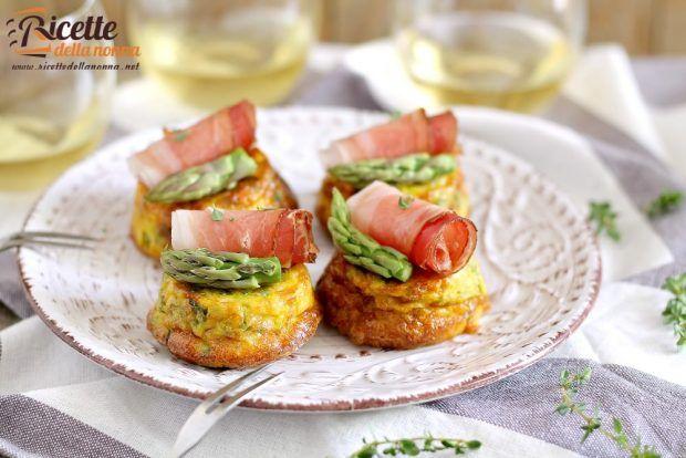 Frittata asparagi e speck ricetta e foto