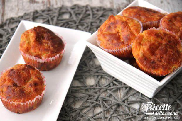 ricetta muffin salati verdure