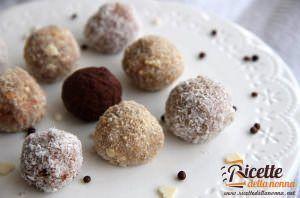 Palline di biscotto alla Nutella