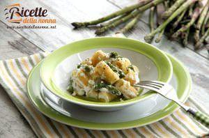 Pasta agli asparagi e ricotta