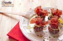 Rotolini di bresaola e spinaci