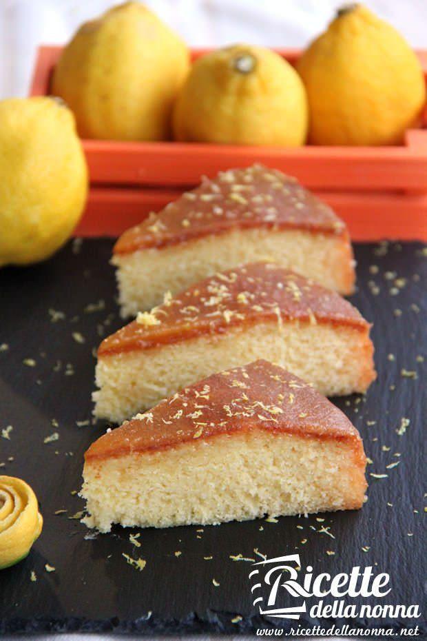 Torta alla marmellata di limoni ricetta e foto