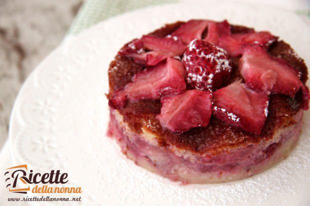 Torta soffice di fragole ricetta e foto