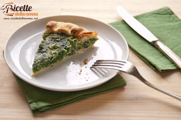 Torta verde leggera alle bietole e ricotta ricetta e foto