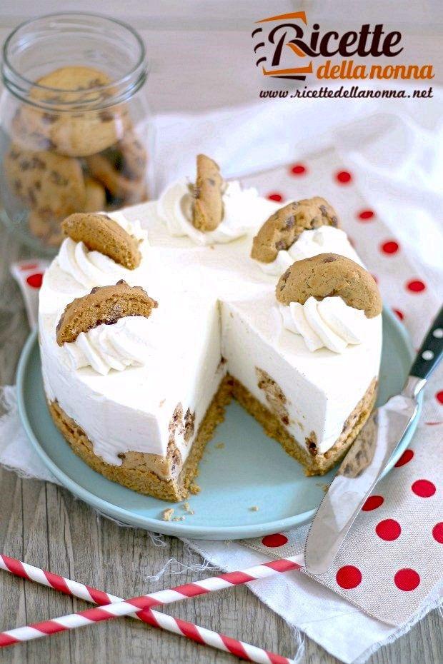 Cheesecake ai cookies ricetta e foto