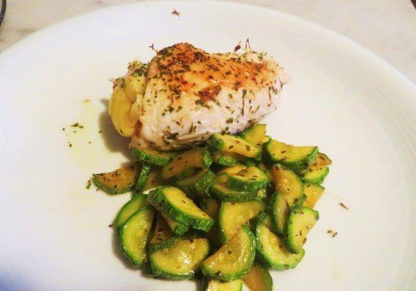 Involtini di pollo con zucchine ricetta e foto