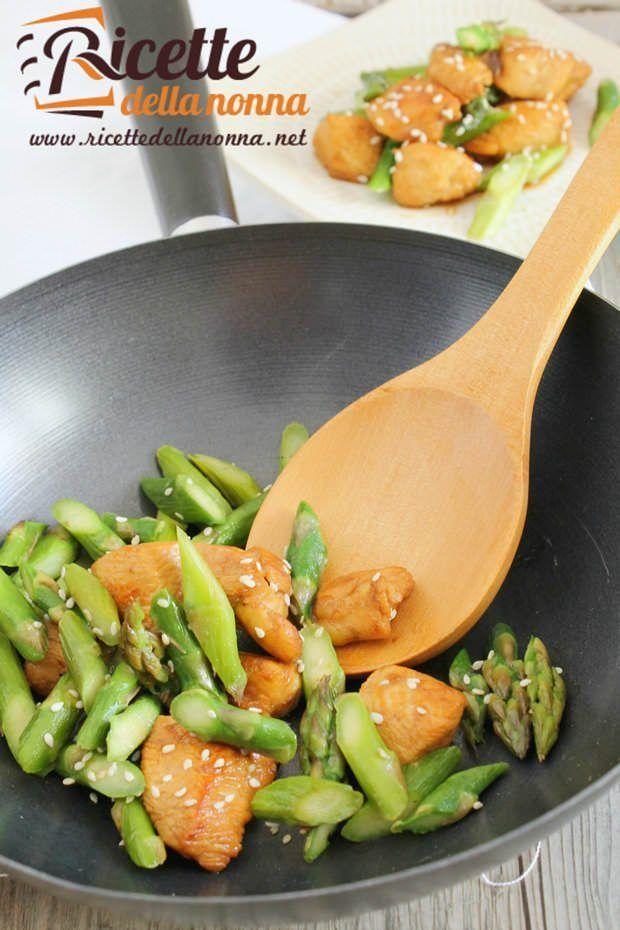 Foto pollo light agli asparagi