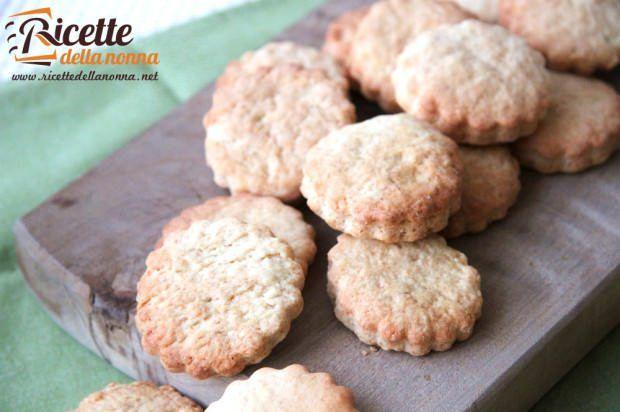 Ricetta biscotti secchi light