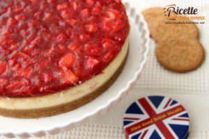 Tredicesima fase preparazione Cheesecake alle fragole