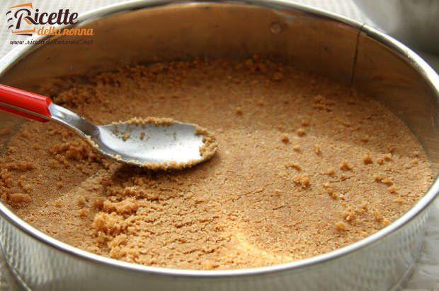 Come fare la base della cheesecake