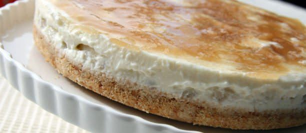 cheesecake ricotta pere