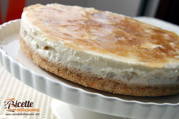 Cheesecake ricotta e pere | Ricette della Nonna
