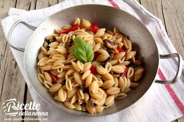 Gnocchetti sardi con champignon