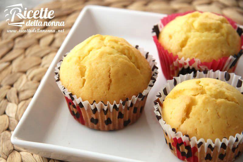 Ricetta Muffin Semplice.Muffin Al Limone Ricette Della Nonna