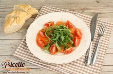 Filetti di trota salmonata affumicata in carpaccio con rucola