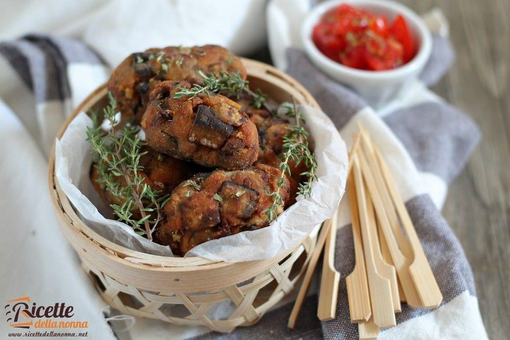 Crocchette di melanzane ricetta e foto