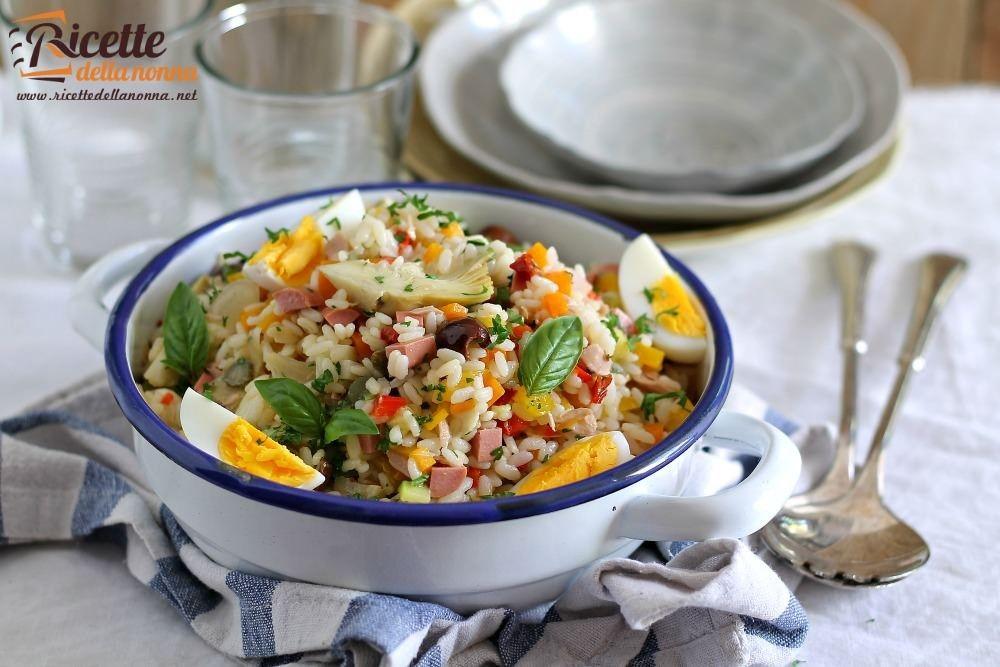 Insalata di riso ricetta e foto