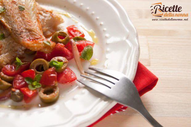 Filetti di nasello alla siciliana ricetta e foto